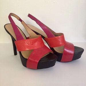 Nine West Shoes - Multi Colored Platform Heels